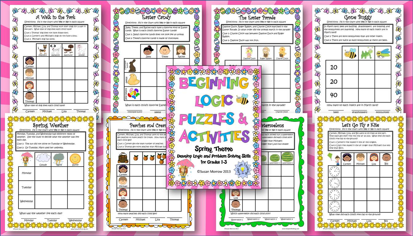 critical thinking math puzzles printable Content filed under the critical thinking category letter tracing math addition addition mazes printable posters charts science life cycle spelling spelling.