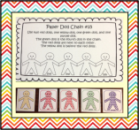 paper doll chain 5