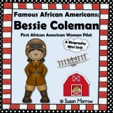 Bessie Coleman Biography Mini Pack