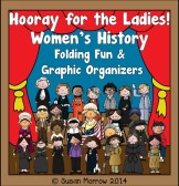 Women's History Folding Fun and Graphic Organizers