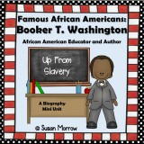 Booker T. Washington Biography Mini Pack